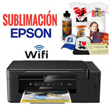 Impresora Epson L395 Wifi+tintas Para Sublimación+ Obsequio