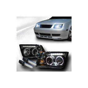 8000k Hen Xenon H1 Blk Halo Led Proyector Led Luces Fog Lamp