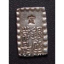 1 Shu. Moneda Antigua De Japon Del Año 1868-69 Plata