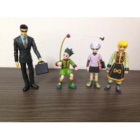 Kit 4 Personagens Hunter X Hunter - A Pronta Entrega - Novo