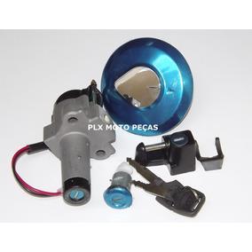 Kit Chave Ignição Cg Titan 150 Ano 2004 A 2008 ( 4 Peças )