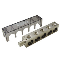 Bloco Distribuidor / Barramento 5 Vias 0awg 53mm Technoise