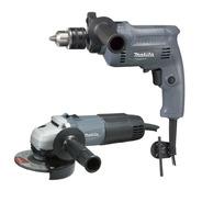 Amoladora 4 1/2  M0901 + Taladro 13mm M0801 (ssp) Makita