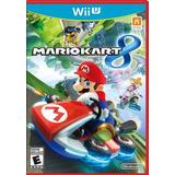 Juego Mario Kart 8 Para Wii U Nuevo Original Sellado Fisico