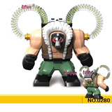 Bane Big Vilão Do Batman Compativel Blocos De Montar 1 Pç