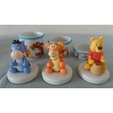 Kit Higiene Porcelana E Biscuit Turma Do Pooh