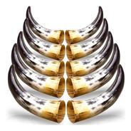 10 Chifre De Boi Polido Orgânico Cutelaria