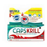 Capskrill Aceite De Krill Omega3 Capsulas Blandas. Oferta