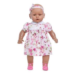 Boneca Meu Bebê Negra 60 Cm - Estrela