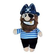 Brinquedo Para Cachorros Pelucia Pirata Listrado