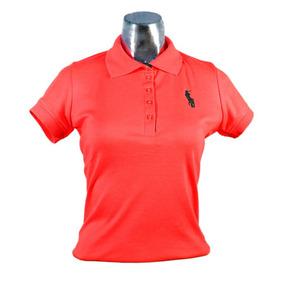 Blusa Camisa Polo 100% Algodón Para Dama (mujer)