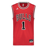 Regata adidas Nba Chicago Bulls Road 2015 1 Rose