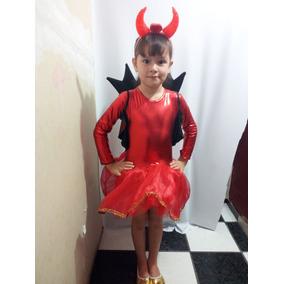 Disfraz Infantil Diablita, Envío Gratis