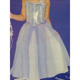 Vestido Infantil Barbie Magia Aladus Fantasia Festa 5 Anos