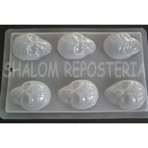 *molde Mediano Para Hacer 6 Calaveras Azucar Gelatina Jabon*