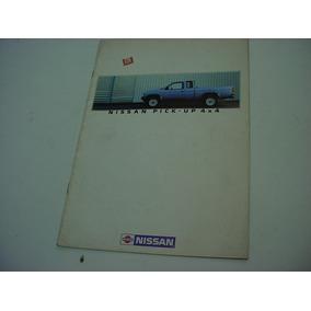 Folder Nissan Pickup Picape 4x4 86 1986 Frontier Se
