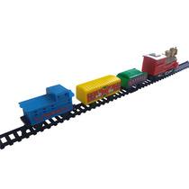 Trem Movido A Pilha Brinquedo Crianças Oferta