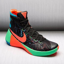 Nike Hyperdunk 2015 Black Hyper Orange