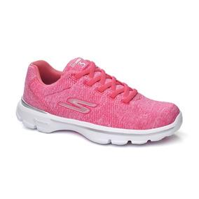 Tênis Gowalk 3 Skechers 14059 - Rosa