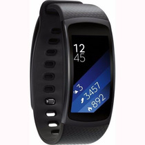 Reloj Samsung Gear Fit 2 Contra Agua Musica Gps Wi-fi Negro