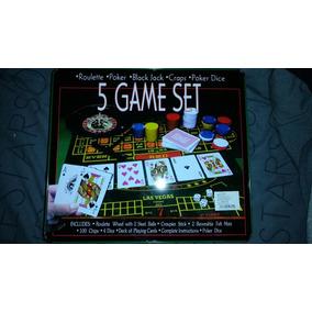 Casino Las Vegas 5 Juegos Poker Blackjack