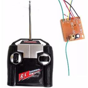 Kit Controle Transmissor + Receptor 27mhz 4-canais