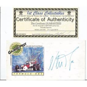 Nelson Piquet Autografo Com Certificado