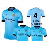 4 Camisetas Talle L Para Armar Tu Equipo Manchester City