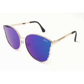 Óculos De Sol Feminino Dior Redondo Promoção Importado
