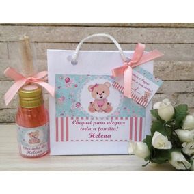 30 Kit Aromatizador Lembrancinha Maternidade Chá Bebê Casame