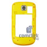 Gabinete Traseiro Amarelo Celular Samsung Gt-s3850 Corby Ii.