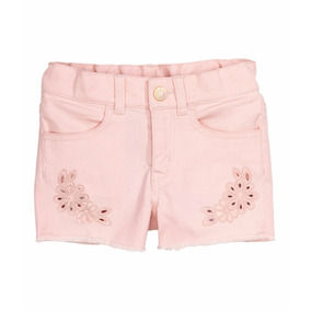 Polleras H&m Para Nenas Jeans Bordado Originales