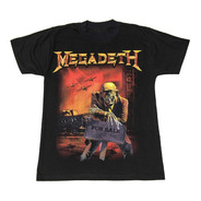 Megadeth - Peace Sells - Dave Mustaine - Remera