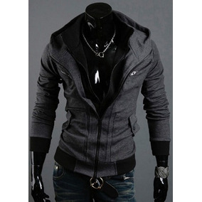 Chamarra Hombre Tipo Assassins Creed Slim Fit Moda Japonesa