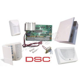 Kit Alarma Con Bateria 8 Zonas Dsc 585 Zd - Local En Rosario