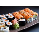 Sushi A Domicilio. Precio Por 20 Piezas De Combo Simple