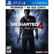 Uncharted 4 Ps4 Português Original 1 Pague Menos