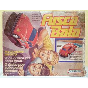 Brinquedo Antigo Fusca Bala Glasslite Com Caixa