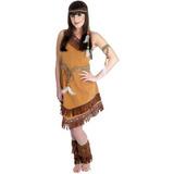 Indiana Squaw Wild West Feminino Traje De Fantasia - M (us 1