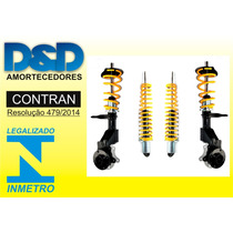 Kit Suspensao Rosca Regulavel Citroen C3