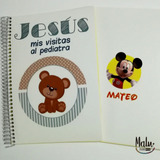 Agendas Pediátricas Sublimables