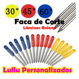 Faca Lamina P/ Plotter Corte Aceita Roland,gcc.