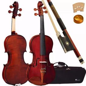 Violino Eagle 4/4 Ve441 + Case, Breu E Arco-frete Grátis