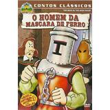 Dvd O Homem Da Máscara De Ferro - Contos Clássicos - Vol. 4