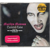 Marilyn Manson Tainted Love Single Cd 3 Tracks Germany 2001