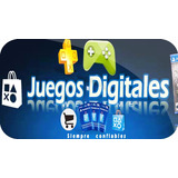 Juegos Originales Digitales Ps3 Y Ps4