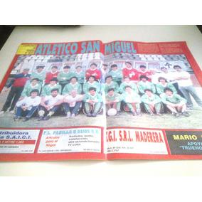 Poster Atletico San Miguel A Primera Division 1990