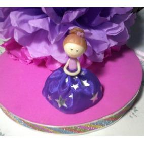 Souvenir Cumpleaños Quince Hada Nena Porcelana Fria