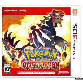 Pokémon Omega Ruby Nintendo 3ds Nuevo Fisico