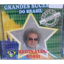 Cd Reginaldo Rossi - Grandes Sucessos Do Brasil (lacrado)